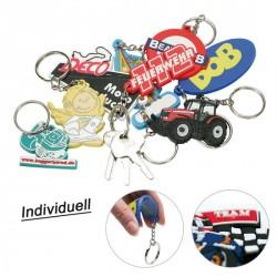 Porte-clés en PVC soft