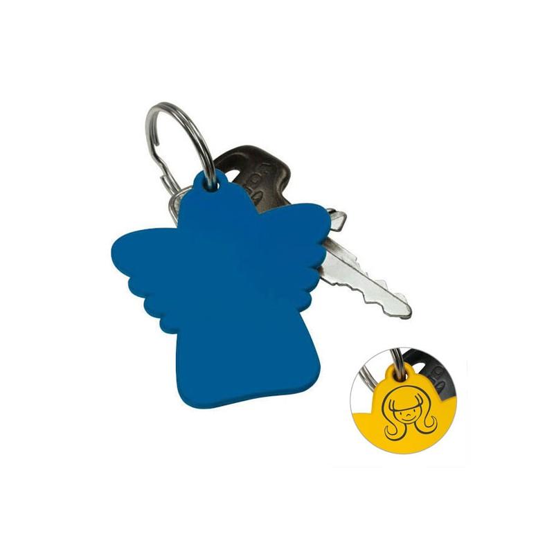 Porte-clé avec ange de protection
