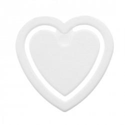 Pince à fiches, en forme de coeur
