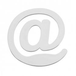 Pince à lettre signe @