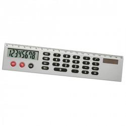 Règle avec calculatrice solaire