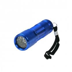 Lampe de poche alu, 9 LED (blanc)