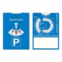 Disque de stationnement en carton