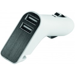 "Metmaxx®Metmaxx® Adaptateur USB pour voiture ""Charge&DriveSecurity"""