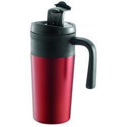 "Metmaxx®Metmaxx® Mug thermo ""EnjoyDesignCup"" Rouge"