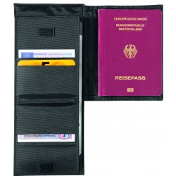 "Blackmaxx®Blackmaxx® POrte documents de voyage ""PulseTravel"""