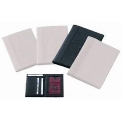 """CreativDesign®POrtefeuille  """"Paperbag2DeLuxe"""" Noir/Noir"""