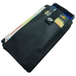"""Blackmaxx®Blackmaxx® POrtemonnaie et étui pour pOrtable""""Mobile&Money"""" Filz"""