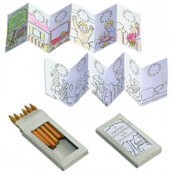 "Thanxx® Set de crayons en couleurs ""Malset(S)"""