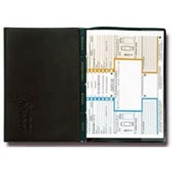 Porte-documents voiture 3-volets avec 4 pochettes à tabulations