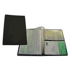 Porte-documents voiture A5 avec 2 pochettes transparentes