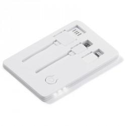 Clé USB carte avec lampe