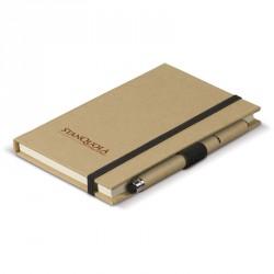 Carnet A6 carton et stylo