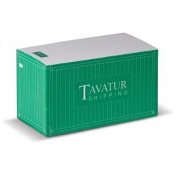 Cube papier rectangulaire
