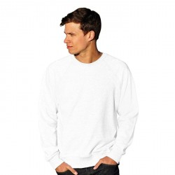 Sweat raglan léger Blanc 62-138-0