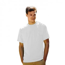 T-shirt homme Fruit Loom blanc 61-036-0