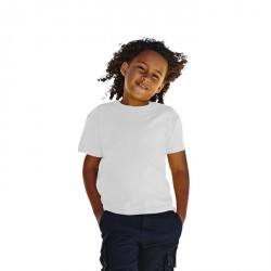 T-Shirt enfant Fruit of the Loom Blanc 61-033-0
