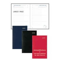 Agendas de comptoir  LARGO 1 PAGE TRAVERS Balacron