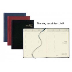 Agendas de bureau  Timing Simili cuir
