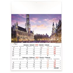 Calendrier 6 pages Vintage Cars