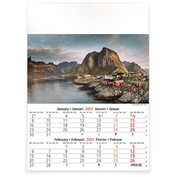 Calendrier 6 pages, Wolrd Heritage