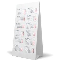 Calendrier de bureau 3 mois CB 2110 gris