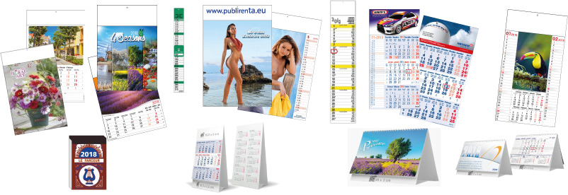 calendriers global 2018