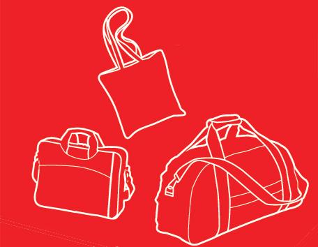 sacs de sports, Sacs Shopping, Sacs de voyage personnalisés