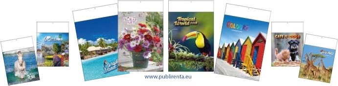 calendriers 13 pages série 330 et 322