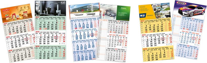 calendriers 3 mois et 4 mois