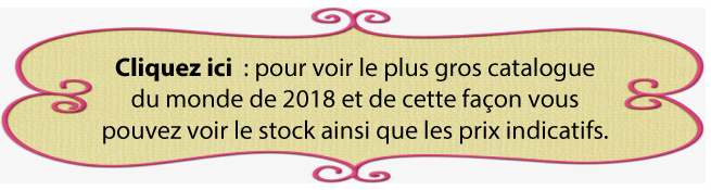 GROS CATALOGUES 2018 POUR STOCK